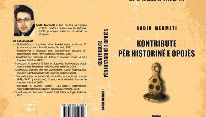 Libër me vlera historike për Opojën