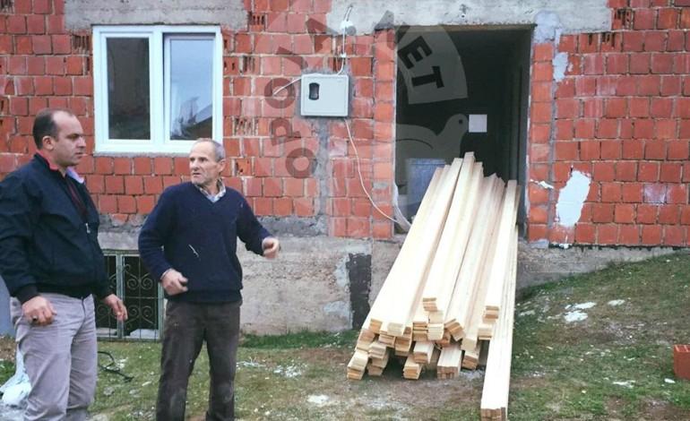 Shoqata Jetimat ndimon familjën 5 anëtarshe në fshatin Kosavë