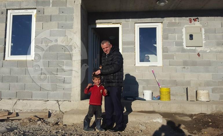 Familja 7 anëtarshe në Zaplluxhe, me shtëpi të re (Foto)