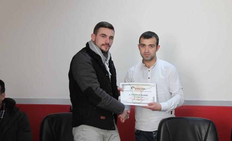 Ditëlind Reshiti, sportisti i vitit në Opojë