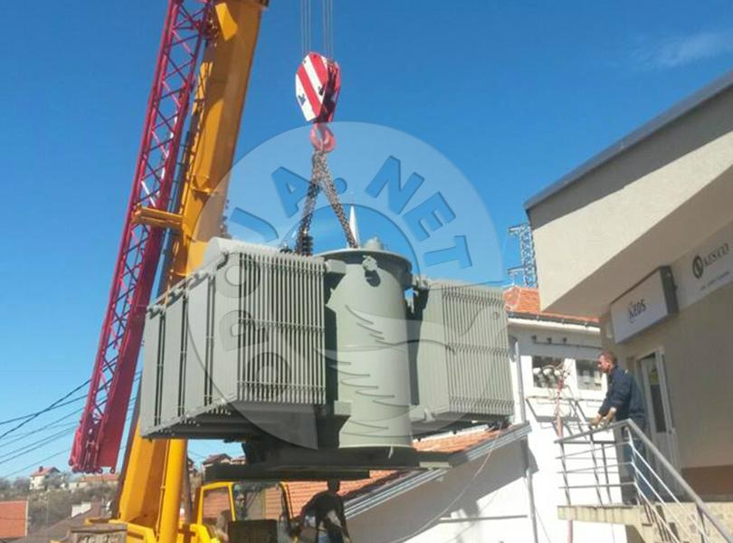 Transformatori i ri do ta stabilizojë furnizimin me energji në Dragash