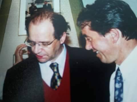 Bexhet Xheladini dhe Ibrahim Rugova