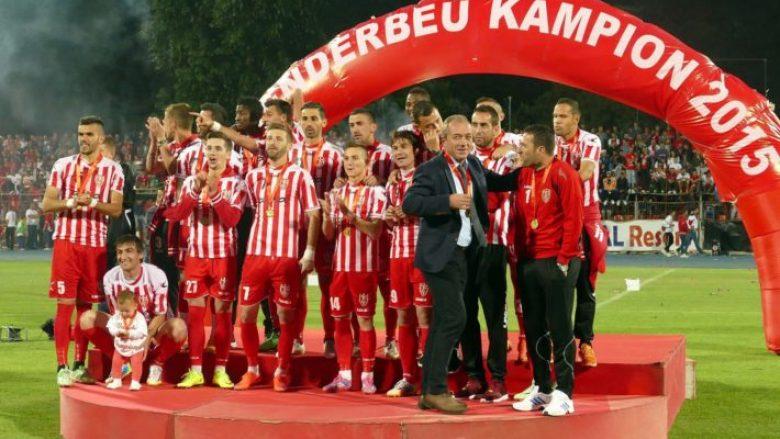 Megjithatë, Skënderbeu merr pjesë në shortin e Ligës së Kampionëve