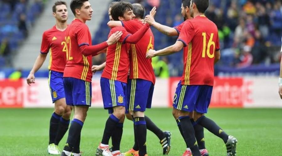 Spanja njëra ndër favoritet në Euro 2016