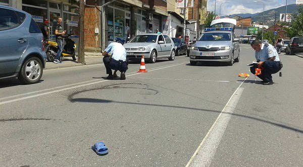 Shkelet me veturë fëmija 7 vjeçar në Prizren