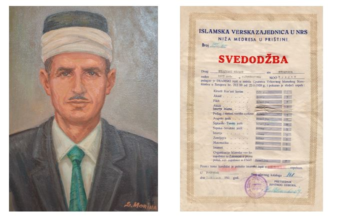 Haxhi Njazi Sylejmani diploma