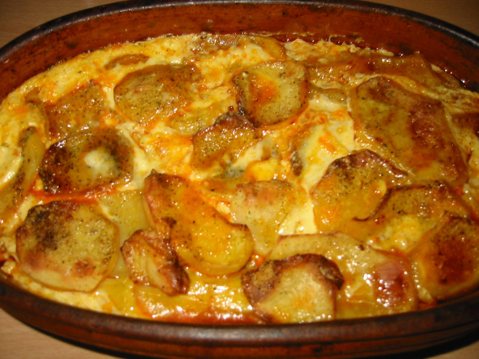 Patate me mish të bluar