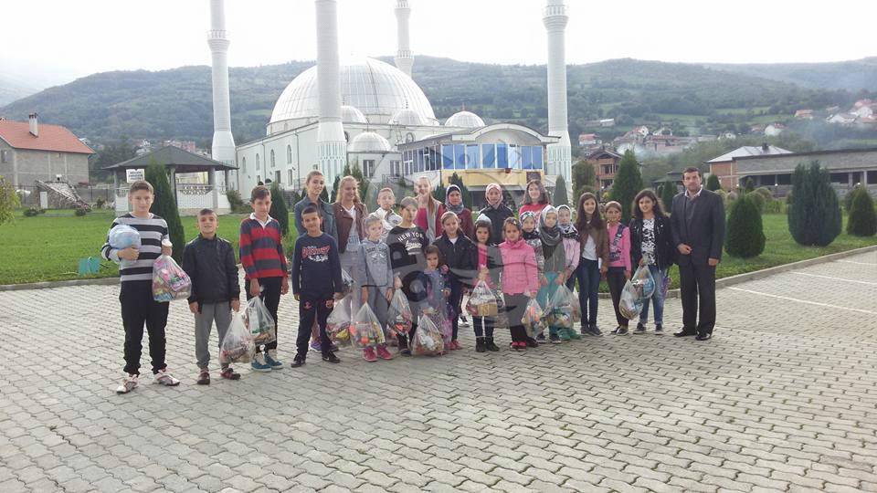 KBI në Dragash dhurata për nxënesit e mejtepit në Bresanë për festën e Kurban Bajramit