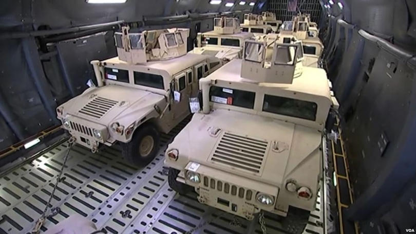 SHBA pajis ushtrinë shqiptare me 250 automjete të blinduara