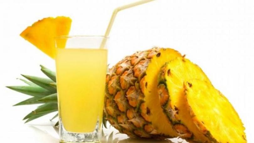 Dobitë shëndetësore të lëngut të Ananasit