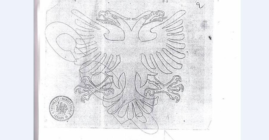 Prof. Dr. Nuridin Ahmeti publikon shkabën e flamurit të vitit 1922