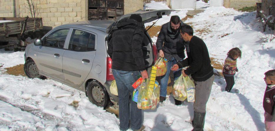 Me gjëra ushqimore ndihmohet familja Gërdellaj nga fshati Rrenc i Drgashit