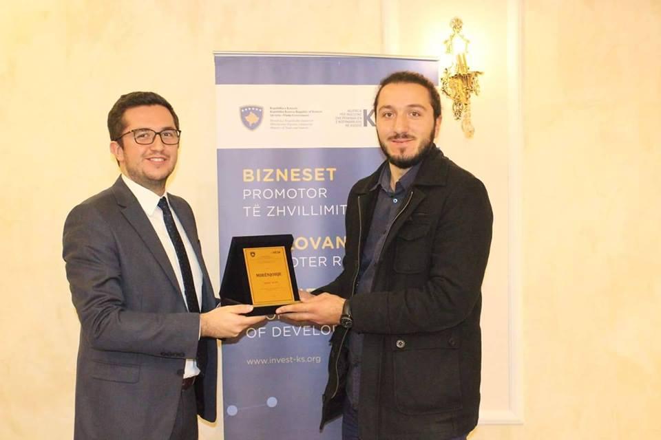 """Kompania """"Meka"""" më e mira e vitit 2016 në regjionin e Prizrenit nga KIESA"""
