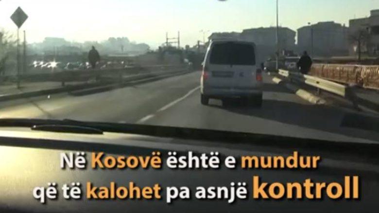 Rruga kufitare Kosovë-Serbi që nuk e kontrollon askush (Video)