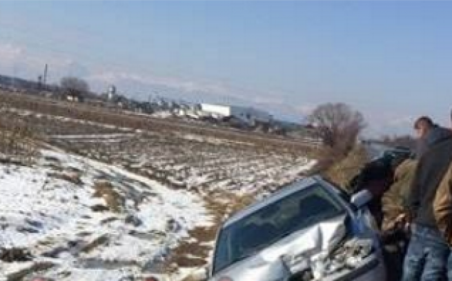 Aksident trafiku në magjistralen Prizren – Gjakovë