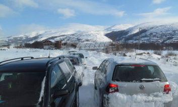 Në fundjavë shi dhe borë, javën e ardhshme më ftohtë