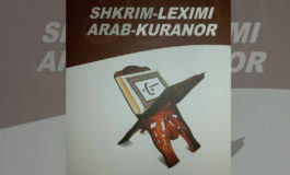 "Doli nga shtypi libri ""Shkrim-lexim Arab-Kuranor"" i autorit Kasam Muhameti"