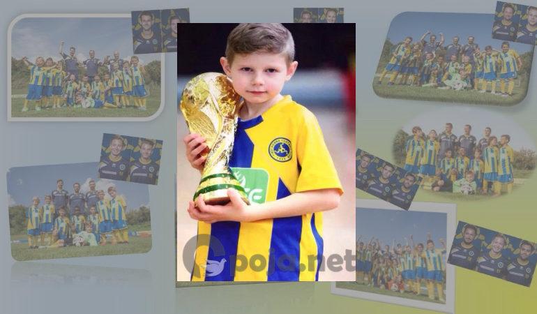 Talenti 8 vjeçar i futbollit, Ervin Velija nga Zaplluxhja e Opojës