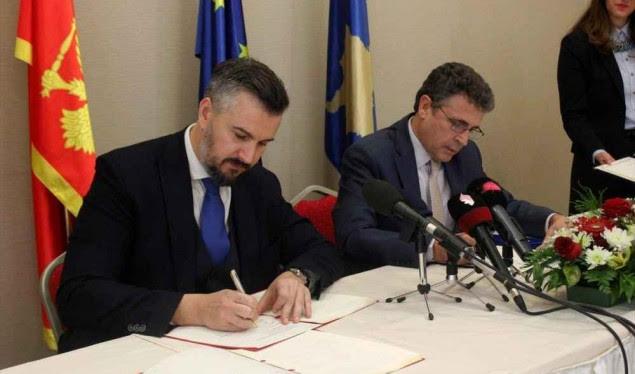 Mali i Zi dhe Kosova marrëveshje për bashkëpunim ndërkufitar