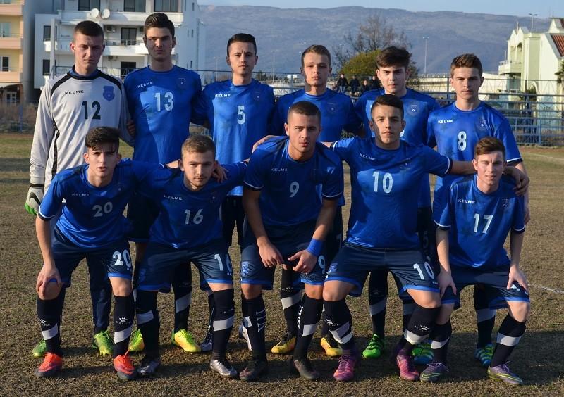 Kosova mposhtë me rezultat 7 me 0 skuadrën nga Mali i Zi