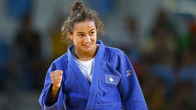 Majlinda Kelmendi nderohet nga konsullata e Kosovës në Paris (Foto)