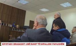 Arrihet parashkrimi absolut, prokuroria heq dorë nga ndjekja penale ndaj ish-kryetarit të Dragashit