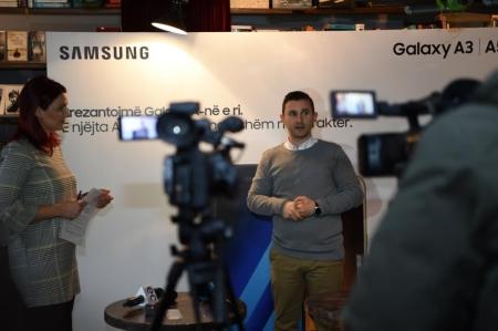 Telefonat e rinj të Samsungut prezantohen në Prishtinë