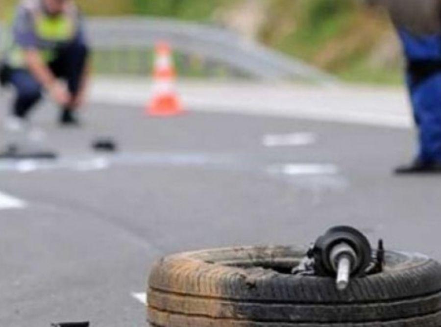 Aksident trafiku pa lëndime në aksin rrugor Prizren – Opojë