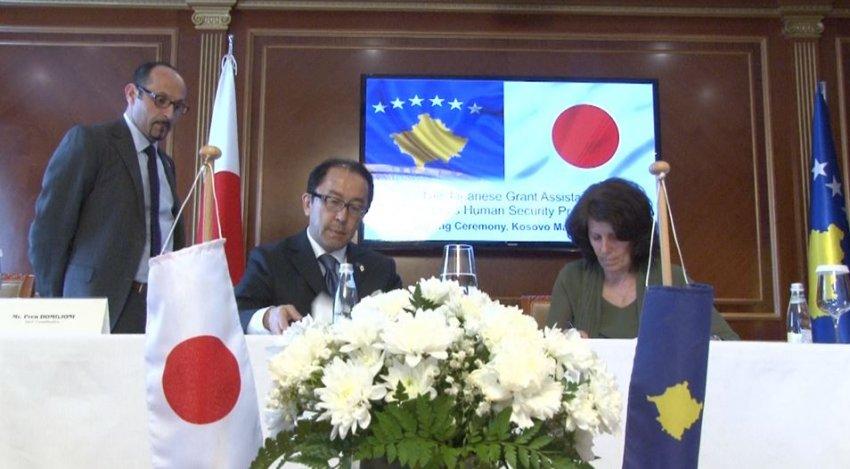 Pesë komuna përfituese të granteve nga Qeveria japoneze, prej tyre edhe Dragashi