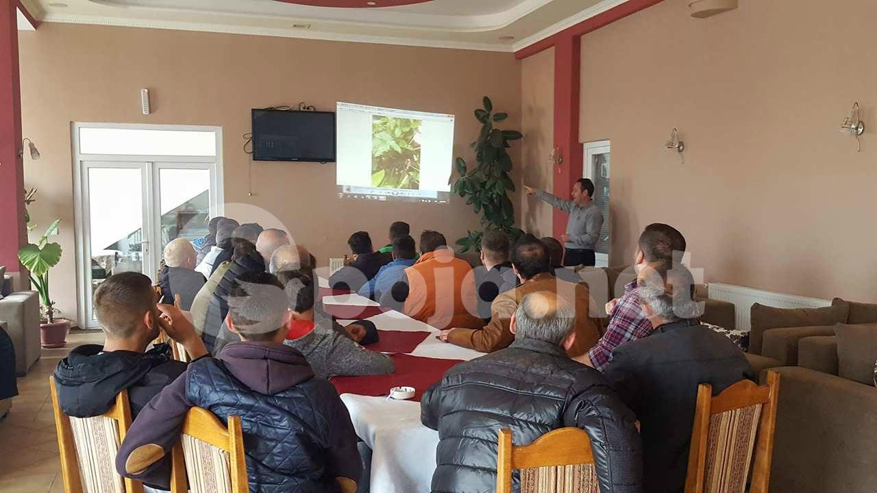 Trajnim me grumbulluesit e bimëve mjekësore në Dragash