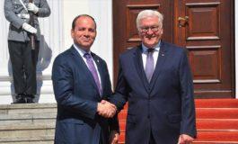 Nishani takon presidentin e Gjermanisë