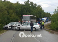 Aksident i rëndë në rrugën Prizren-Dragash, tetë persona të lënduar