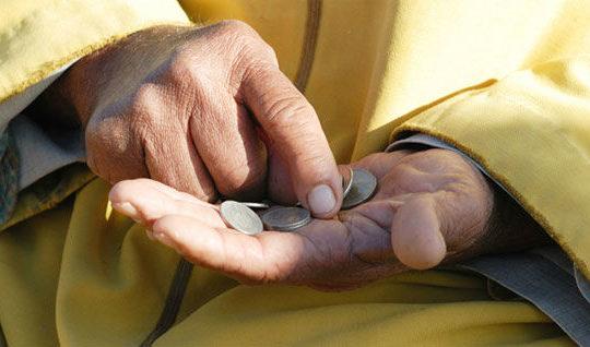 Mos fol për pasurinë tënde para të varfrit