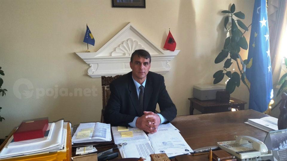 Kryetari i komunës së Dragashit Shaban Shabani uron qytetarët për vitin e ri