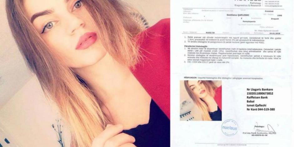 Gentiana Qafleshi vuan nga një sëmundje e rëndë, ka nevojë për ndihmë