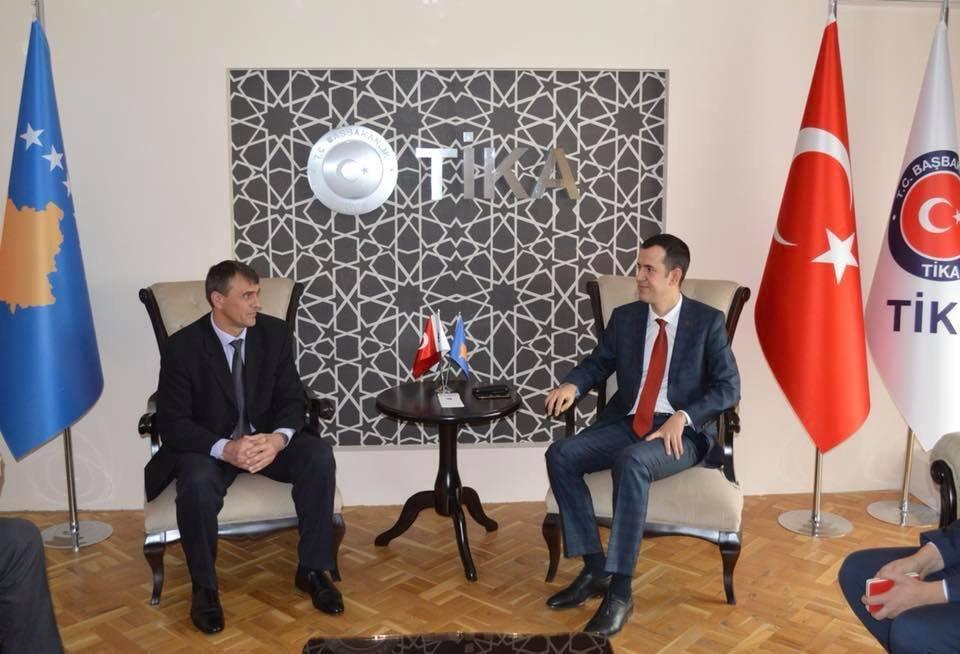Kryetari Shabani bashkëpunon me TIKA në zbatimin e projekteve të ndryshme