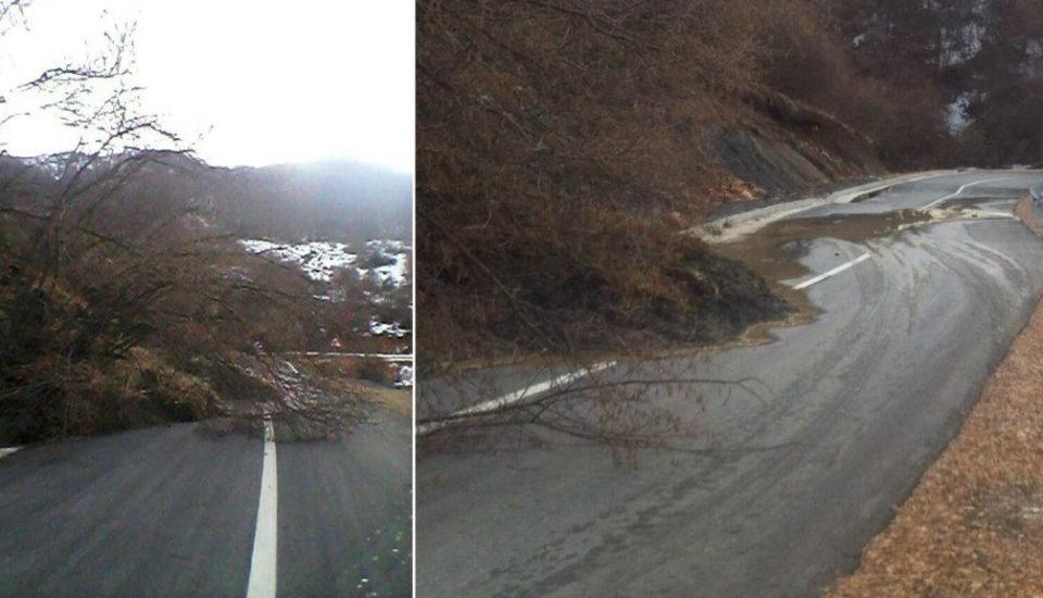 Rruga Zaplluxhe- Prizren pothuajse e pa kalueshme