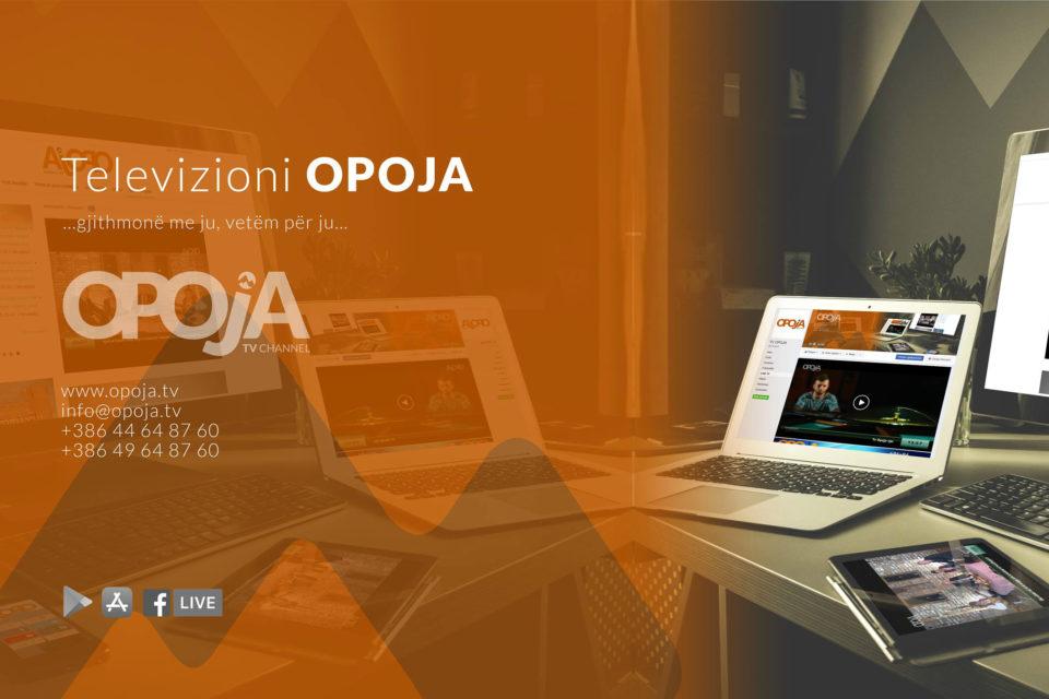"TV Opoja transmeton finalet e turneut humanitar ""Opoja për Gentianen""!"