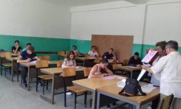 Në komunën e Dragashit filloi mbarë testi i Maturës shtetërore 2018