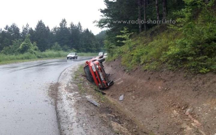 Brenda pak orësh, dy aksidente në afërsi të Dragashit!