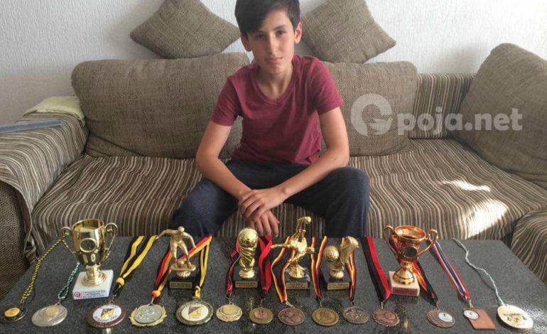 Valmir Aslani, talenti i ri Opojarë në Gjermani