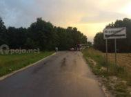 Aksident në rrugën Buzez - Bresanë, nuk ka të lënduar