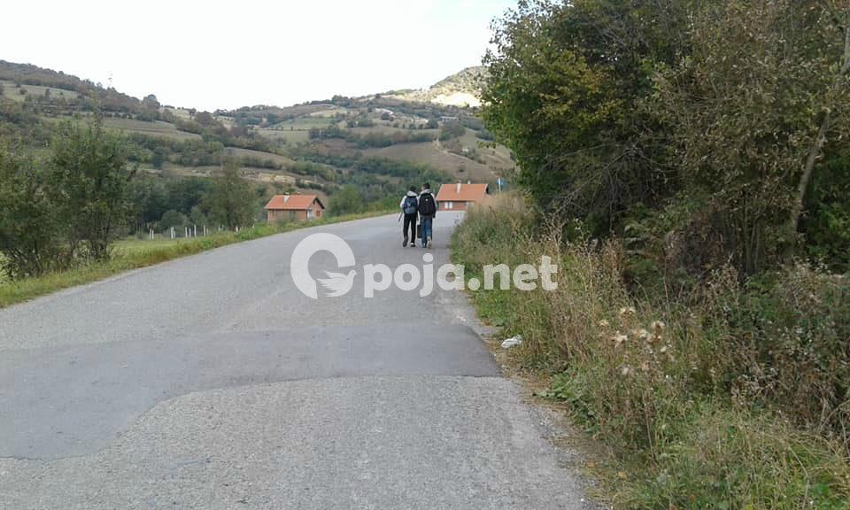 TROTUARET – një nevojë e domosdoshme për shumë fshatëra të Opojës!