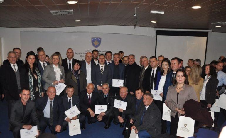 Komuna e Dragashit ndanë mirënjohje për mësimdhënës dhe drejtorë më të mirët për vitin 2018
