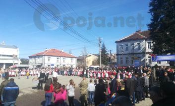 Pamje nga atmosfera festive në Dragash për 11 vjetorin e Pavarësisë (Video)