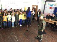 """Me rastin e 11 vjetorit të Pavarësisë së Kosovës, në SHFMU """"ULINA"""" është mbajtur orë letrare"""