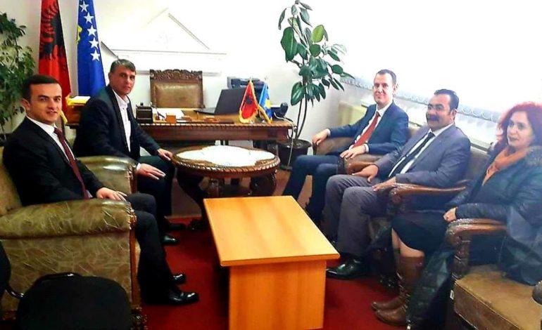 Shaban Shabani dhe drejtori i TIKA-s zotohen për bashkëpunime të reja