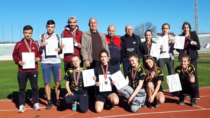 Në mitingun e parë të atletikës, Klubi nga Prizreni arrinë të fitojë 11 medalje