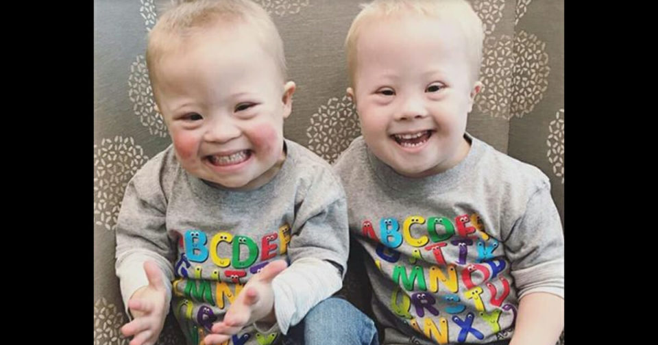 Joy-Filled Twins With Down's Syndrome Are Inspiring The World Through Social Media, 1 Post At A Time