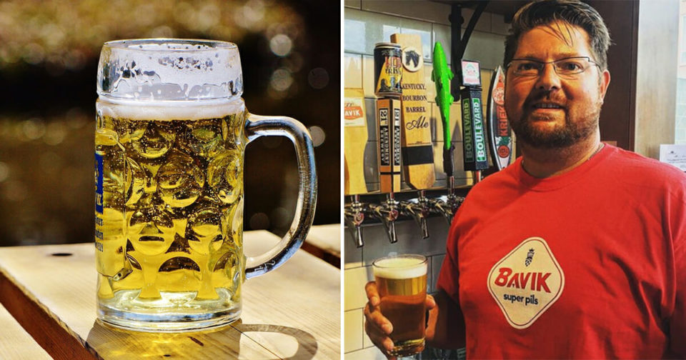 """Man lives on nothing but Beer for 46 days -drops 44lbs and """"feeling great"""""""